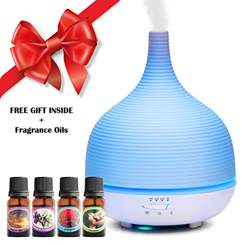 Aromatherapy-Essential-Oil-Diffuser-500-ML-Cool-Mist-Air-Purifier-Atomizer-Aromatherapy-Diffuser-With-7-Changing-Colors-LED-Lights-3-working-modes-Four-100-Natural-Scented-Oils-Included-0