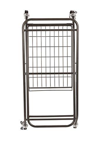Artesa-Verona-Collapsible-Metal-Laundry-Cart-with-Removable-Basket-Canvas-Bag-0-0