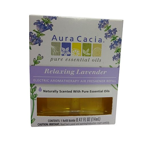 Aura-Cacia-EleCTric-Aromatherapy-Air-Freshener-Refill-Relaxing-Lavender-047-Oz-6-pack-0