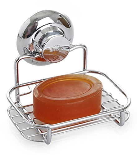 BINO-SMARTSUCTION-Rust-Proof-Stainless-Steel-Shower-Caddy-0-1