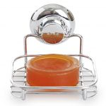BINO-SMARTSUCTION-Rust-Proof-Stainless-Steel-Shower-Caddy-0