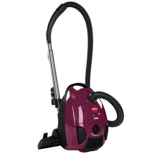 BISSELL-Zing-Bagged-Canister-Vacuum-Purple-4122-Corded-0-0