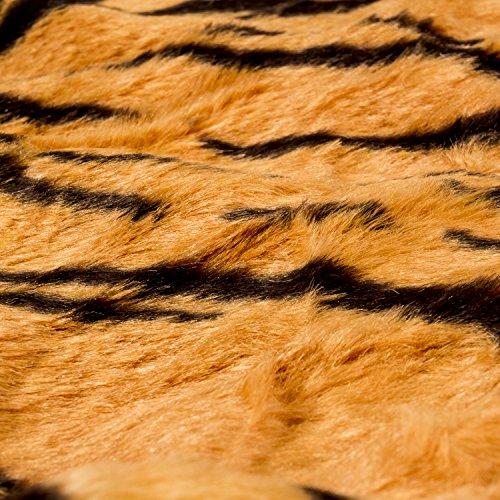BRUBAKER-Huge-Brown-Tiger-Rug-78×47-Inch-0-1