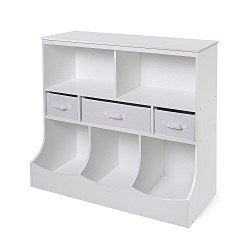 Badger-Basket-Combo-Bin-Storage-Unit-with-Three-Baskets-0