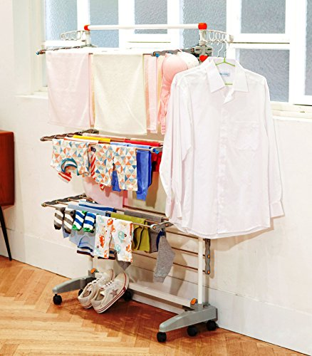 Badoogi-BDP-V12-Foldable-Heavy-Duty-and-Compact-Storage-Drying-Rack-System-Premium-Size-0-1