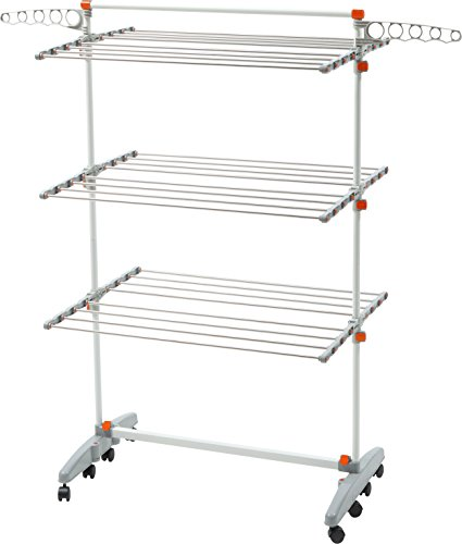 Badoogi-BDP-V12-Foldable-Heavy-Duty-and-Compact-Storage-Drying-Rack-System-Premium-Size-0