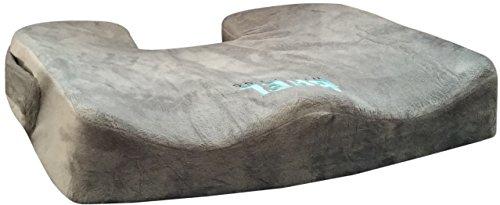 Bael-Wellness-Seat-Cushion-for-Sciatica-Coccyx-Orthopedic-Tailbone-and-Backpain-0