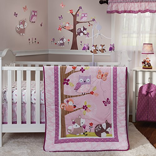 Bedtime-Originals-Lavender-Woods-Musical-Mobile-0-0