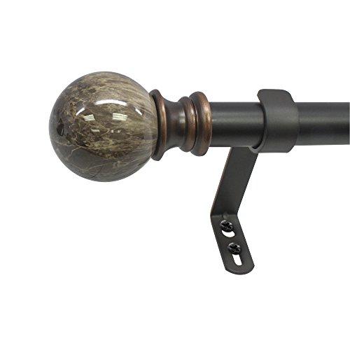 Beme-International-1-Decopolitan-Core-Marble-Ball-Telescoping-Drapery-Rod-Set-0