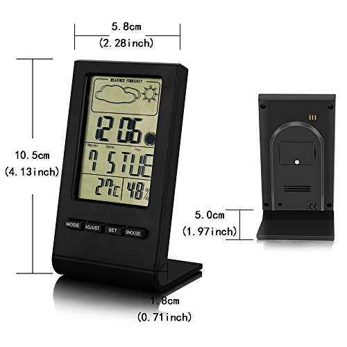 Bengoo-Indoor-Humidity-Monitor-Hygrometer-Digital-Thermometer-Monitor-Home-Weather-Station-with-LCD-Display-Alarm-Clock-Calendar-Function-0-1