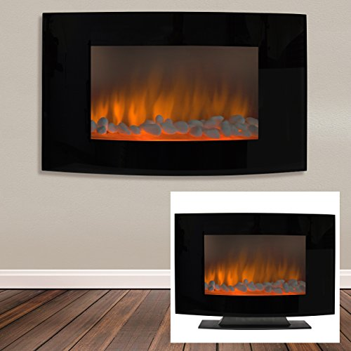 Best-Choice-Products-Large-1500W-Heat-Adjustable-Electric-Wall-Mount-Free-Standing-Fireplace-Heater-with-Glass-XL-0-1