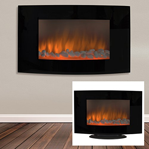 Best-Choice-Products-Large-1500W-Heat-Adjustable-Electric-Wall-Mount-Free-Standing-Fireplace-Heater-with-Glass-XL-0