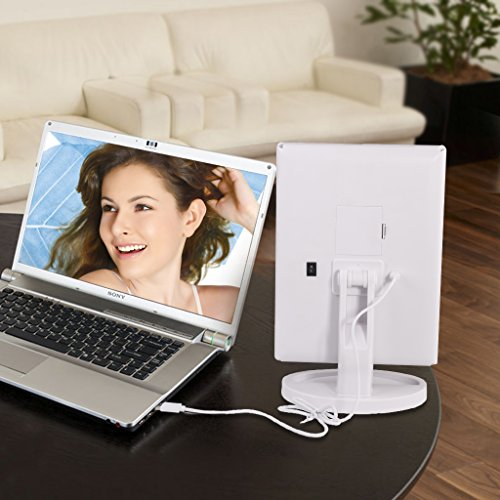 Big-House-Trifold-LED-lighted-Makeup-Mirror-Foldable-Portable-Travel-Electric-Chargeable-HD-Vanity-Mirror-with-Lights-White-0-0