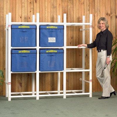 Bin-Warehouse-DFAE2MBW0431-Storage-System-for-12-Totes-0