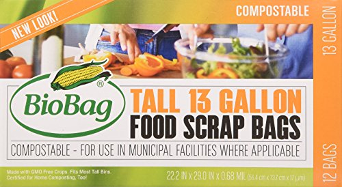 BioBag-13-Gallon-Tall-Kitchen-Waste-Bag-12-CT-Full-Case-of-12-Boxes-144-Bags-Total-0