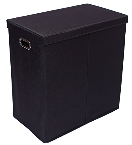 BirdRock-Home-Laundry-Hamper-with-Lid-and-Removable-Liners-0-1