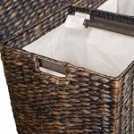 BirdRock-Home-Water-Hyacinth-Laundry-Hamper-with-Divided-Interior-and-Removable-Cotton-Liners-0-1