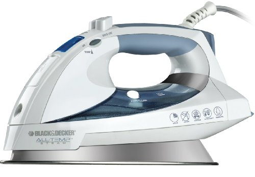 Black-Decker-D6000-All-Temp-Steam-Iron-with-Stainless-Steel-Soleplate-WhiteGrey-0-0