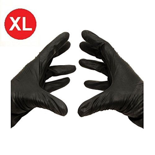 Black-Nitrile-Powder-Free-Gloves-Non-Medical-Size-XLarge-35-Mil-Thick-1000case-0