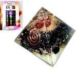 Black-Tourmaline-Chakra-Orgone-Pyramid-Free-Booklet-Jet-International-Crystal-Therapy-0
