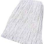 Boardwalk-CM02024S-Mop-Head-Cotton-Cut-End-White-4-Ply-24-Band-Case-of-12-0-0