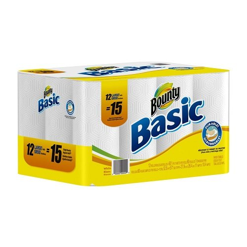 Bounty-Basic-Paper-Towels-12-Large-Rolls-Pack-of-2-0