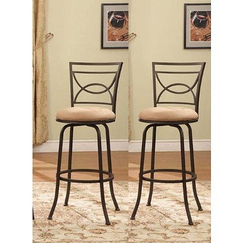 Bronze-Finish-Half-Circle-Back-Adjustable-Metal-Swivel-Counter-Height-Bar-Stools-Set-of-2-0