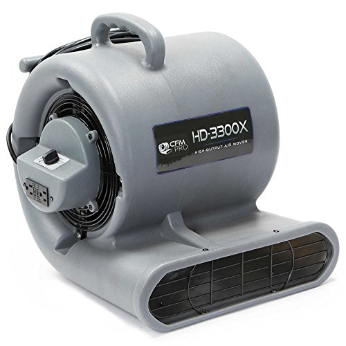 CFM-PRO-Air-Mover-Carpet-Dryer-Blower-Fan-3300-Series-0