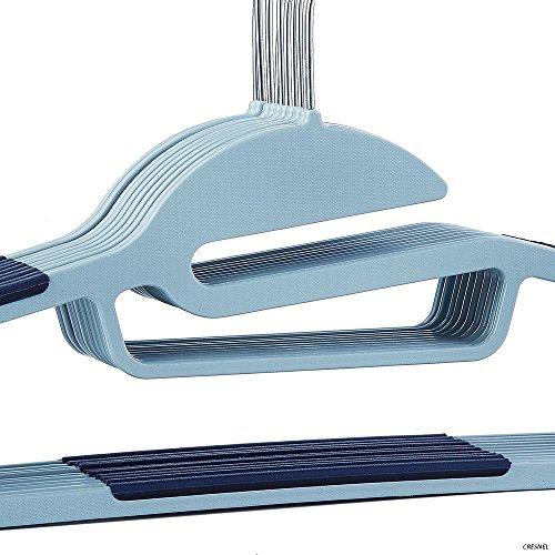 CRESNEL-U-Slide-Clothes-Hanger-Non-slip-Best-Value-Pack-of-50-pcs-Heavy-Duty-0-1
