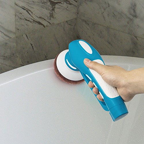 CUH-Cordless-Household-Power-Scrubber-with-Rechargeable-Battery-for-Bathroom-and-Kitchen-1-Battery-6-Brushes-1-Scouring-Pad-0-0