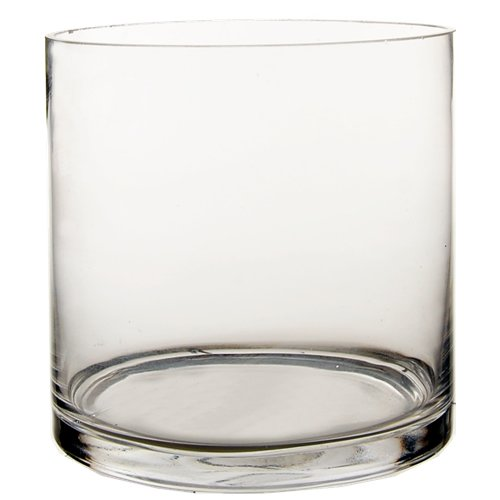 CYS-Glass-Cylinder-Vase-H-6-Open-D-6-0