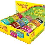 California-Scents-Spillproof-Organic-Air-Freshener-12-Unit-Counter-DisplayAssorted-15-Ounce-Canister-Pack-of-12-0