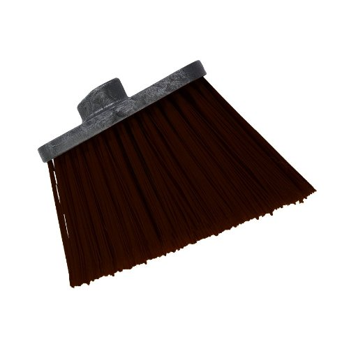 Carlisle-3686801-Duo-Sweep-Heavy-Duty-Unflagged-Angle-Broom-Head-Polypropylene-Bristle-8-Length-x-12-Width-4-12-Bristle-Trim-Brown-Case-of-12-0