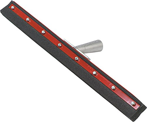 Carlisle-4008200-Flo-Pac-Double-Foam-Rubber-Neoprene-Floor-Squeegee-with-Steel-Frame-24-Width-Case-of-6-0