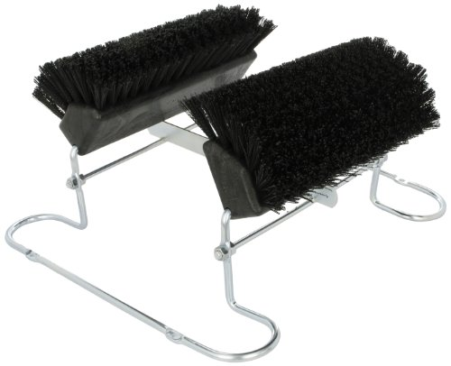 Carlisle-4042403-Spectrum-Commercial-Boot-N-Shoe-Brush-Scraper-with-Chrome-Plated-Steel-Frame-Black-0-0