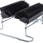 Carlisle-4042403-Spectrum-Commercial-Boot-N-Shoe-Brush-Scraper-with-Chrome-Plated-Steel-Frame-Black-0
