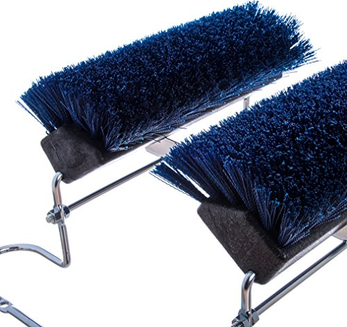 Carlisle-4042414-Spectrum-Commercial-Boot-N-Shoe-Brush-Scraper-with-Chrome-Plated-Steel-Frame-Blue-0-1