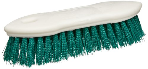 Carlisle-4549409-Spectrum-Pointed-End-Scrub-Brush-Plastic-Block-1-38-Long-Green-Polyester-Bristles-8-L-x-1-12-W-Case-of-12-0-0
