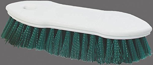 Carlisle-4549409-Spectrum-Pointed-End-Scrub-Brush-Plastic-Block-1-38-Long-Green-Polyester-Bristles-8-L-x-1-12-W-Case-of-12-0-1