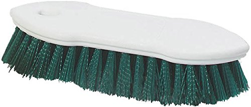 Carlisle-4549409-Spectrum-Pointed-End-Scrub-Brush-Plastic-Block-1-38-Long-Green-Polyester-Bristles-8-L-x-1-12-W-Case-of-12-0