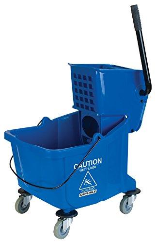 Carlisle-Mop-Bucket-with-Side-Press-Wringer-26-Quart-65-Gallon-0-0