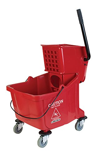 Carlisle-Mop-Bucket-with-Side-Press-Wringer-26-Quart-65-Gallon-0-1