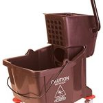 Carlisle-Mop-Bucket-with-Side-Press-Wringer-26-Quart-65-Gallon-0