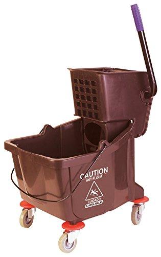 Carlisle-Mop-Bucket-with-Side-Press-Wringer-26-Quart-65-Gallon-0
