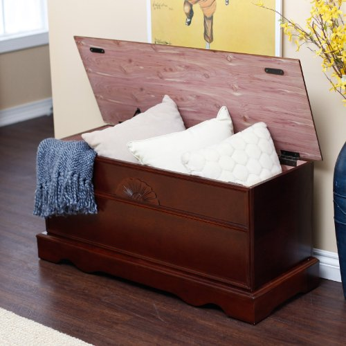 Cedar-Hope-Chest-Cherry-Finish-Wood-Storage-Trunk-Beautiful-Home-Furniture-0-1