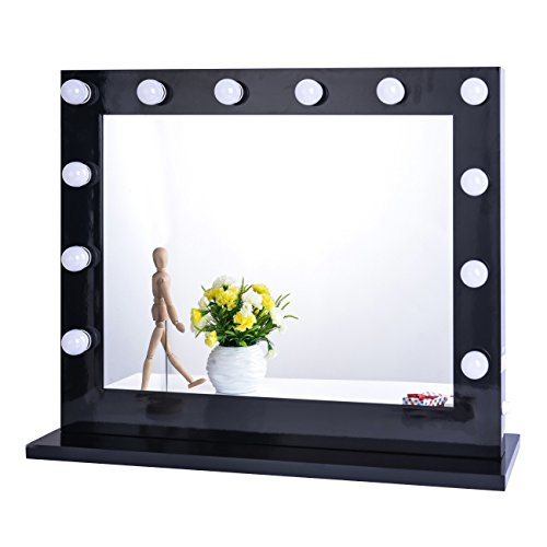 Chende-Hollywood-Lighted-Makeup-Vanity-Mirror-Light-with-Dimmer-Christmas-Gift-0