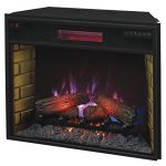 ClassicFlame-28II300GRA-28-Infrared-Quartz-Fireplace-Insert-with-Safer-Plug-0-0