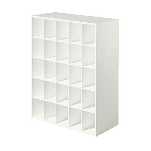 Closet-Shoe-Organizer-Storage-Cabinet-Cube-25-Pair-Floor-Cubby-Espresso-0-0