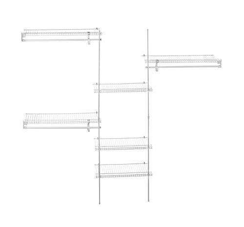 ClosetMaid-ShelfTrack-Closet-Organizer-4-to-6-Feet-0