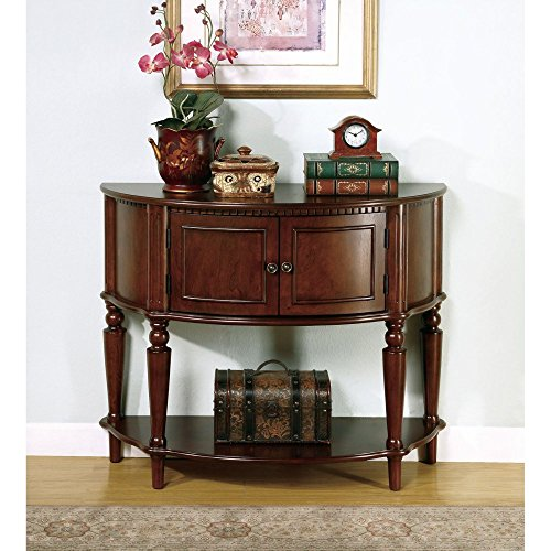 Coaster-Company-of-America-Brown-Demilune-Console-Table-0